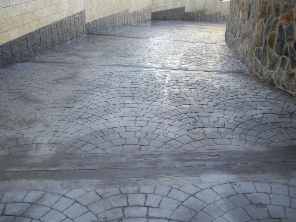 Hormigon impreso en la rioja pavimentos lasanza for Hormigon para pavimentos