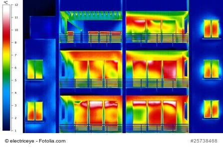 aislamiento termico por termografia en Logroño