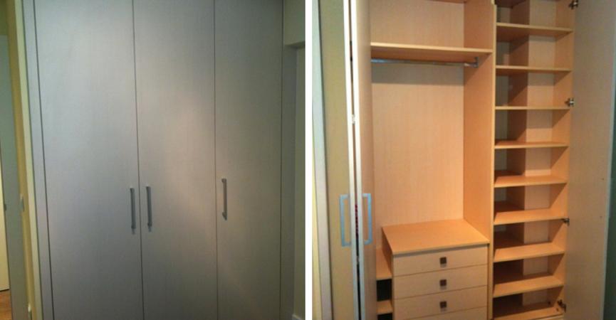 Armarios, baldas y estanterías