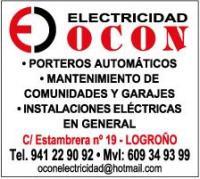 ELECTRICIDAD OCON