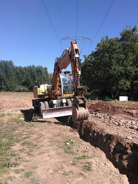 Excavaciones de zanjas