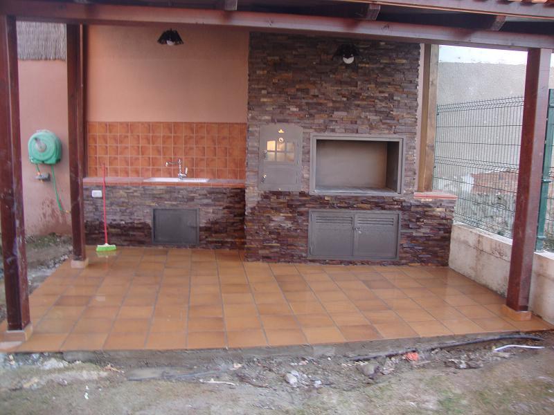 Instalación de Chimenea en cocina