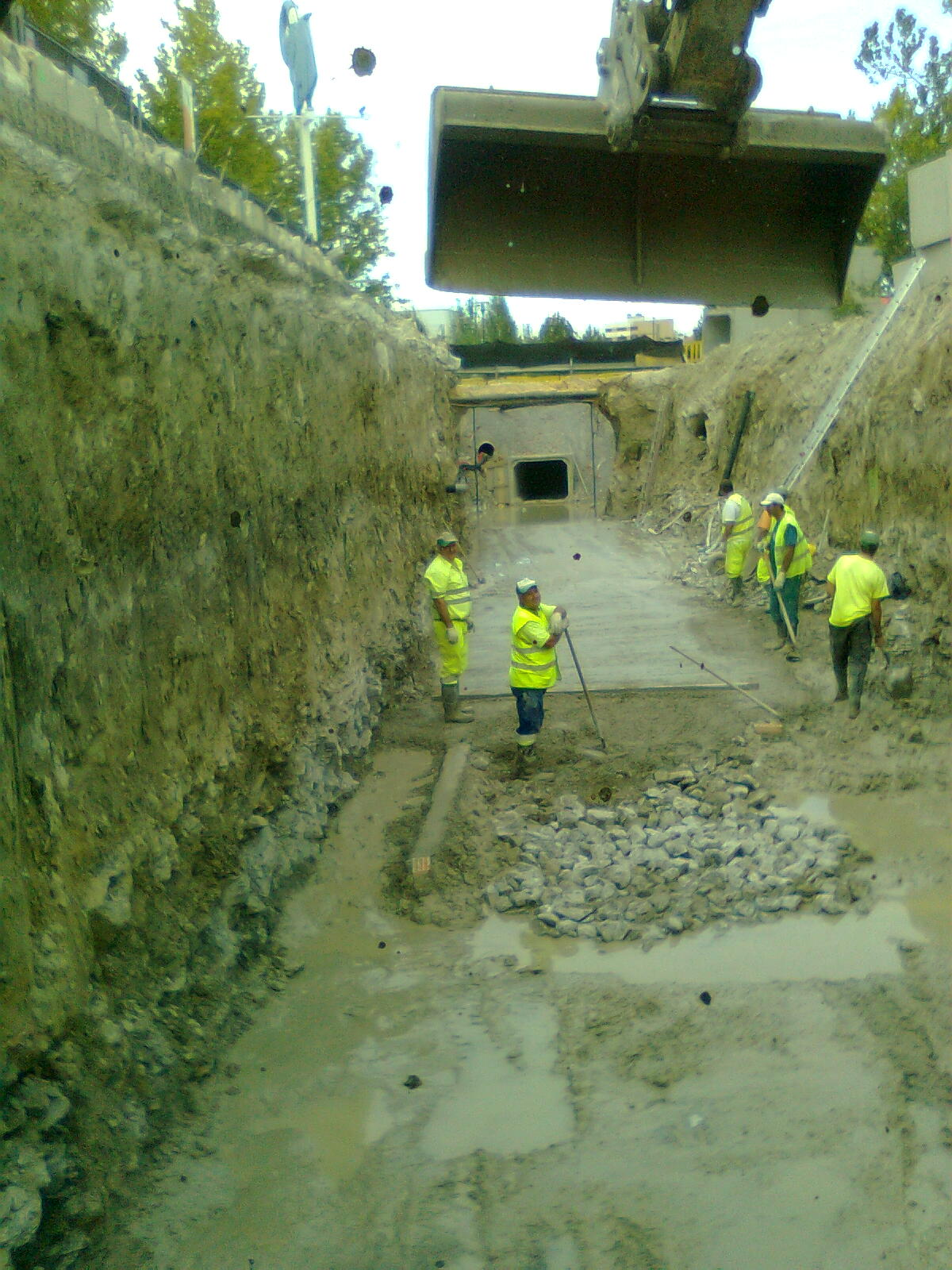Excavaciones a cielo abierto